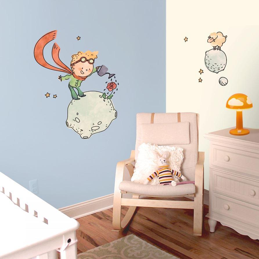 adesivi murali il piccolo principe contadino leostickers. Black Bedroom Furniture Sets. Home Design Ideas